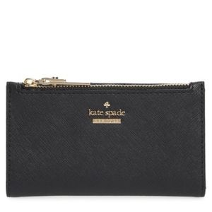 Kate Spade Cameron Street Mikey Leather Wallet New